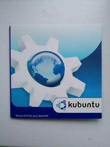 Original Kubuntu 6.10 64-Bit PC Linux Install CD