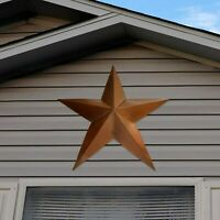 """36"""" Metal Barn Star Rustic Texas Tin Country Western Wall Hanging Sculpture"""