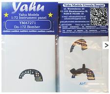 YAHU Modelli yma7271 1/72 PE DORNIER do-17z Bomber CRUSCOTTO
