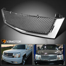 2002-2006 Cadillac Escalade EST ESV Chrome Front Mesh Grill Grille