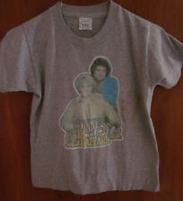 DUKES OF HAZZARD beat-up tee 1980 youth med T shirt Bo& Luke OG Screen Stars