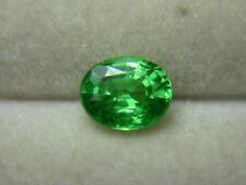 rare bright Green Tsavorite Garnet Gemstone gem Tsavo Kenya oval Natural ts69