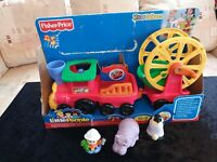 Fisher Price Little People Animal Train From Zoo Talkers.