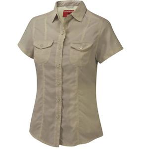 Craghoppers| Womens Nosilife Darla SS Shirt | Mushroom | 20
