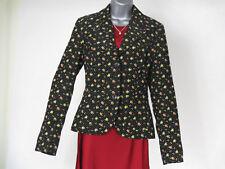 Divided by H&M Ladies Black Flower Print Jacket  Women's Size UK 10