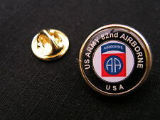 "Pin's "" US ARMY 82 nd AIRBORNE "" USA para WW2 82 AB liner T5 paratrooper"