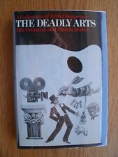 Marcia Muller & Bill Pronzini The Deadly Arts 1st HC SIGNED Fine