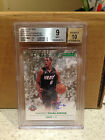 SKYBOX ROOKIE 2008 - 09 GREEN EMERALD AUTO BGS 9 MARIO CHALMERS HEAT RARE SP