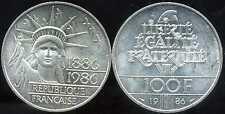 FRANCE  FRANCIA  100 francs   LIBERTE  1986    ARGENT  SILVER