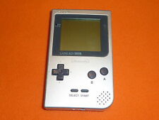 Nintendo Game Boy Pocket plata consola (sin tapa)