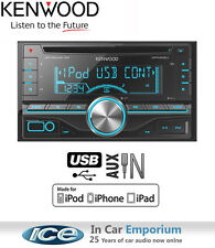 Kenwood DPX305U car stereo, CD USB Auxiliary in plays iPod iPhone