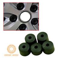 5Pcs Wheel Centre Nut Cover w/ Locking Wheel Nut Cap Set For VW Golf Passat Seat