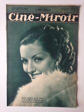 CINE MIROIR N°580 15 MAI1936 COUV VIVIANE ROMANCE