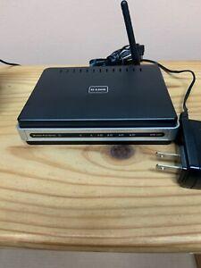D-LINK DPR-1260 WIFI range extender and USB printer server.
