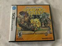 Final Fantasy Fables: Chocobo Tales (Nintendo DS, 2007) NEW *SEALED*