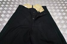 Genuine Vintage British Army No1 / Cavalry Dress Trousers Black or Green Stripe