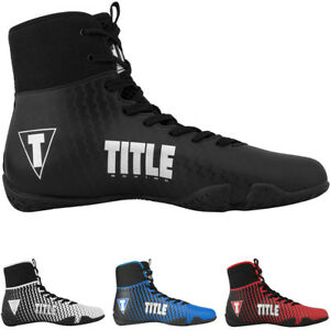 Title Boxing Predator II Lightweight Mid-Length Boxing Shoes