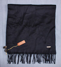 Loro Piana Men's Navy Blue 100% Cashmere Piccola Unita Scarf New With Tags NWT