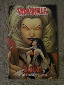 Vampirella: Hell On Earth Limited Preview - Harris Comics - 1998 - First Printin