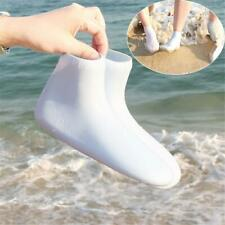 1 Pair Aqua Silicone Shoes Water Socks Yoga Exercise