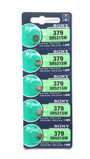 5x SONY 379, SR521SW 1.55V Alkaline Battery JAPAN MADE **Post from Melbourne**