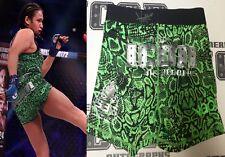 Veta Arteaga Signed Bellator 172 Fight Worn Used Shorts Trunks BAS Beckett COA