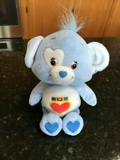 "Care Bears Loyal Heart Dog Blue 8"" Plush Care Bear Cousins"