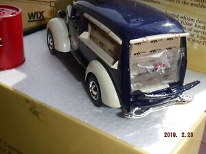 Wix Chevrolet Canopy Panel 99074 60th Anniversary Diecast Die cast Bank coin