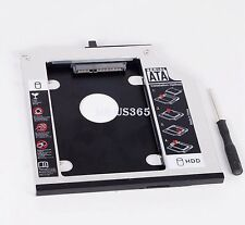 9.5mm SATA 2nd HD HDD Hard Drive caddy bay for IBM T400s T500 T410 43N3412