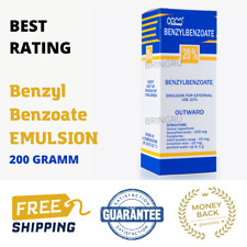 20% Benzyl Benzoate emulsion, Antiparasitic, Scabies Lice Treatment  200 GRAMM