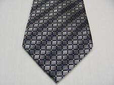 ALFANI - GEOMETRIC PATTERNED - 100% SILK NECK TIE!