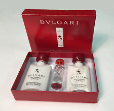 BVLGARI 3 Pieces Set: 40 ml After Shave Emulsion & Body Lotion + 5 ml EDC * NEW
