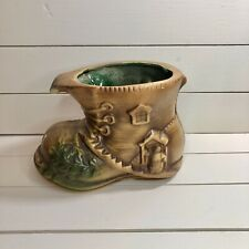 Ceramic Boot Plant Pot For Your House Plants Or Flowers.