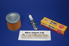 SUZUKI  07-09 LTZ400 Tune Up Kit NGK Spark Plug & Oil Filter