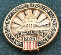 PRESIDENT JOE BIDEN USSS Secret Service Lapel Pin 2021 Inauguration White House