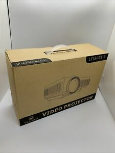VANKYO Leisure 3 Upgraded Version 2400 Lux LED Portable Projector - White New