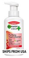 Clean Foam Cleanser Purifying Combination Skin Grapefruit & Pomegranate 6.8fl oz