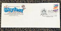 Vintage Disneyland Skyfest Commemoratively Cancelled Envelope December 5, 1985