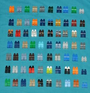 70X LEGO MINIFIGURE LEGS BUNDLE/JOBLOT SOME PRINTED SUPERHEROES STAR WARS ETC
