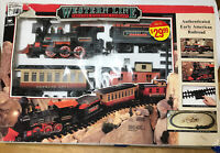 Vintage New Bright Western Line Frontier Express Train Set 182WG G Scale Tested
