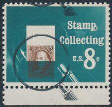"""#1474 Var. """"Stamp Collecting"""" Major Color Shift Error Bs2681"""