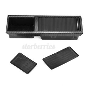 For BMW E46 3 Series Centre Console Storage Tray Coinbox Carbon Look 51168217953