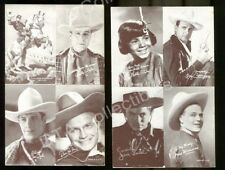 DON RED BARRY/FRED MORRISON/WALLY WALES-ARCADE CARD LOT FR/G
