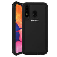 For Samsung Galaxy A20s Hybrid Protective Case Rugged Heavy Duty Bumper Cover