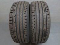 2x Sommerreifen Bridgestone Turanza T 001 215/50 R18 92W DOT: 0617 ca. 7,8 mm