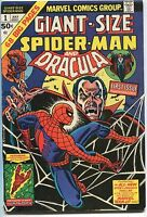 1974 Giant-Size Spider-Man & Dracula #1 ~Marvel Team Up!~ (Grade 6.0) WH