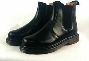 Mens Classic Bootstrap Pull up Combat Chelsea Ankle Smart Formal Casual Boots