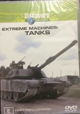 Extreme Machines - Tanks (DVD, 2003)  BRAND NEW SEALED