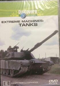 Extreme Machines - Tanks (DVD, 2003)  BRAND NEW SEALED