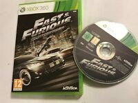 XBOX 360 VIDEOGAME VIDEO GAME THE FAST & FURIOUS SHOWDOWN COMPLETE PAL